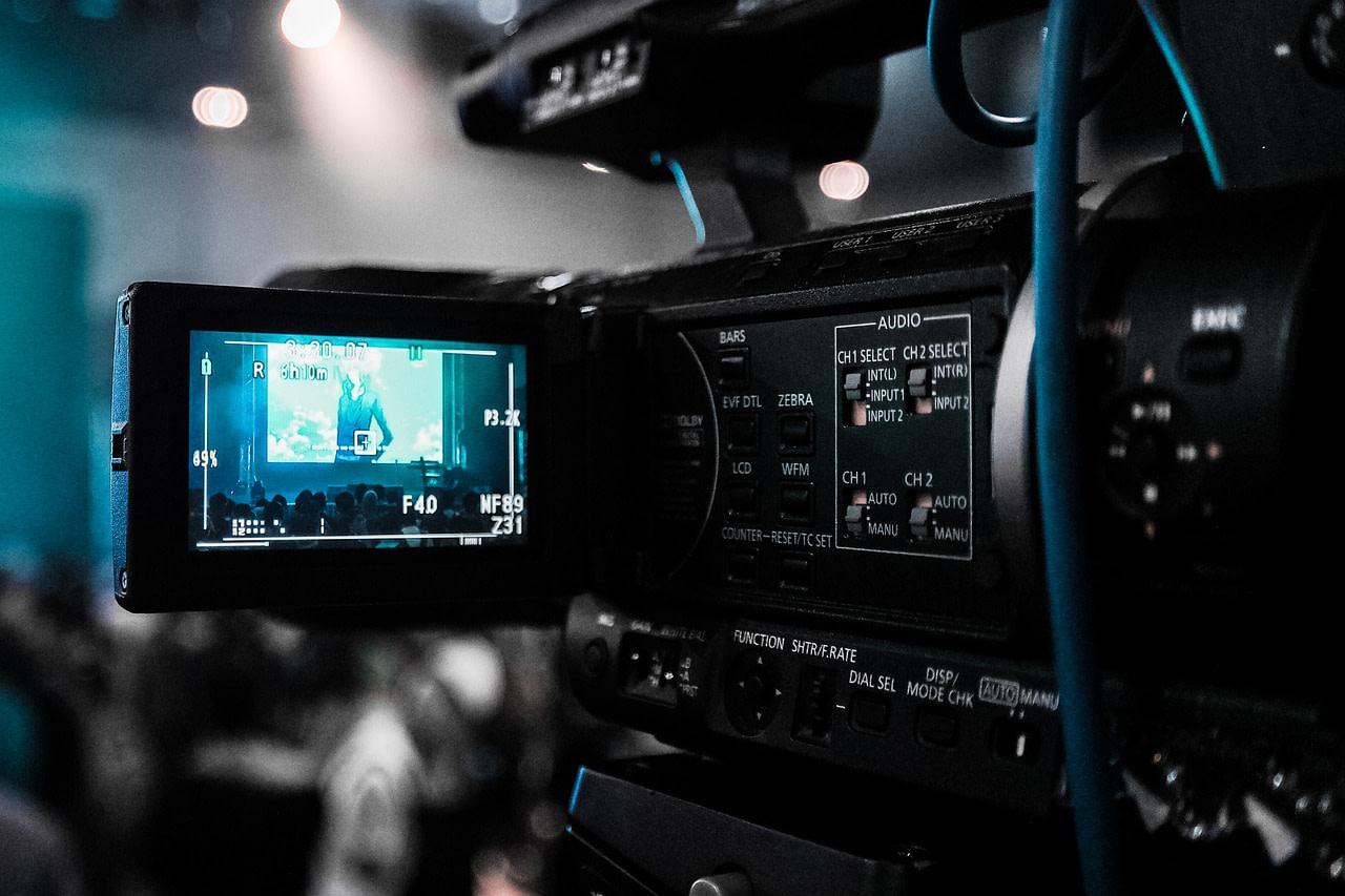 technology, camera, video